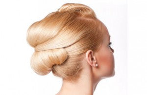 formal chignon bridal hairstyles
