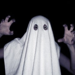 rubbish ghost costume