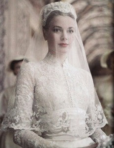 Grace kelly | Lace wedding gowns