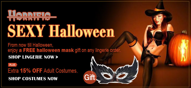 Halloween offer banner