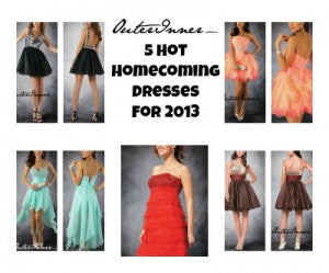 5 homecoming dresses for 2013