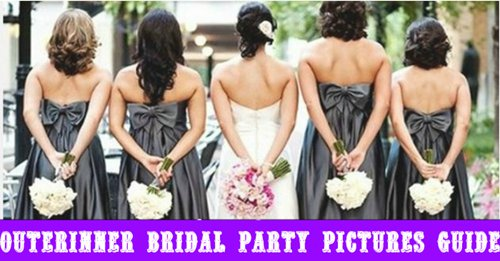 outerinner bridal party pictures guide