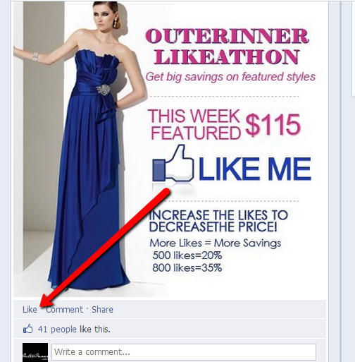 here's where to like the outerinner discount likeathon