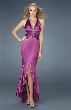 Sheath Hi-Lo 2012 Prom dresses