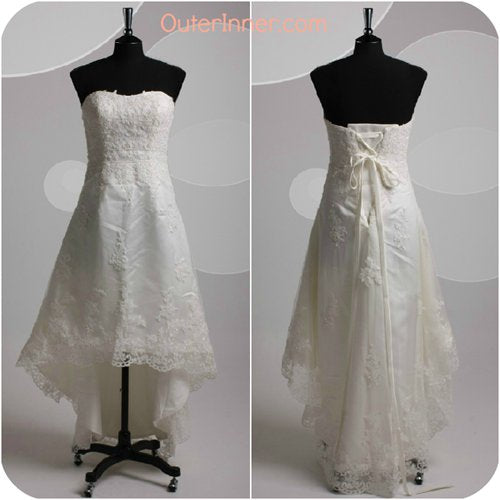 hi low wedding gowns 06491