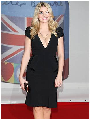 Holly Willoughby Brits 2012