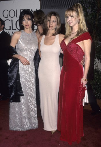 Jennifer Aniston sheath dresses 1996
