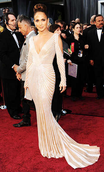 Jennifer Lopez in Zuhair Murad gown