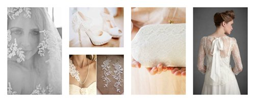 lace accessories for weddings