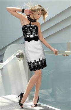 Lace Short White Sleeveless Cocktail Dresses, Style Code: 01760, US$99.00