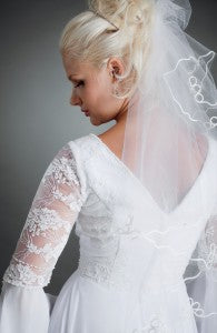 A-line Lace Wedding Gown With Court Train Style Code: 00530 $129