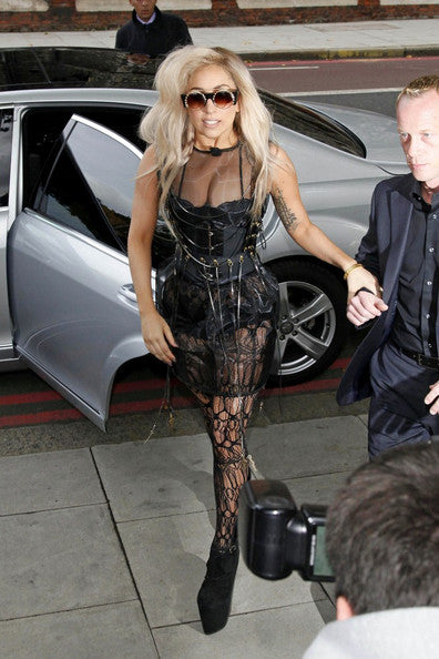 Lady Gaga loves corsets