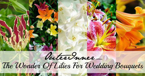 lilies for wedding bouquets