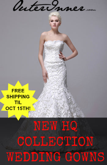 FREE Shipping On OuterInner HQ Collection Wedding Gowns Until Oct 15