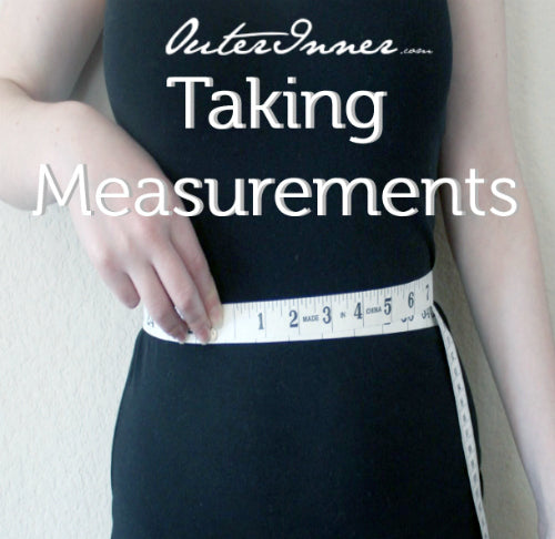 measurements for occasions dresses
