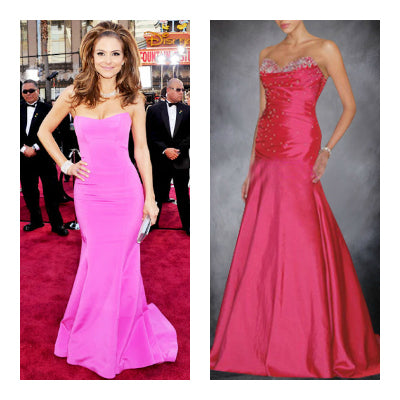 maria menounos style Sweep/ Brush Train Taffeta Sleeveless Trumpet/ Mermaid Black Tie Event Dresses, Style Code: 00280, $104