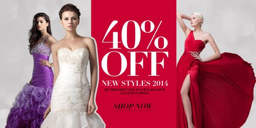 OuterInner dresses deals | 40% OFF new styles 2014