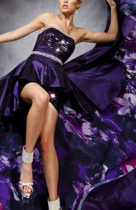 2014 prom dress trends | peplum prom dress