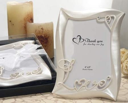 picture frame wedding favors