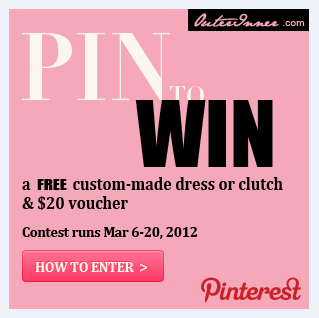 win a free dress in our pinterest competition