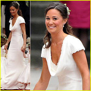 pippa middleton cream bridesmaid dress