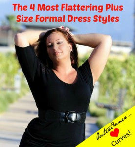 the 4 most flattering plus size formal dresses