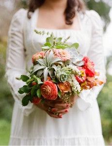 posy wedding bouquets