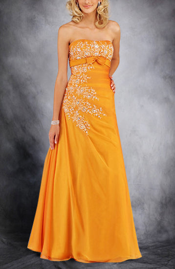 A-line Sleeveless Strapless Floor-length Black Tie Event, Style Code: 00291, US$169.00