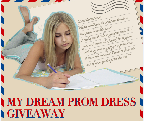 'My Dream Prom Dress Giveaway' where you can win prom dresses