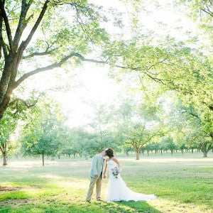 simple outdoor wedding rustic weddings