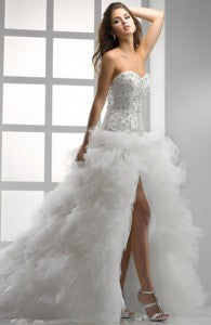serious sparkle wedding gowns