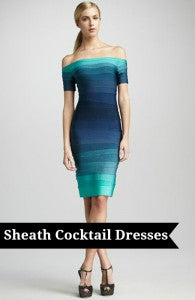 sheath cocktail dresses