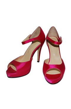 Stiletto Ankle Strap Open Toe Shoe, Style Code: 06168, US$72.00