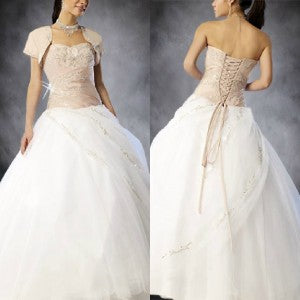 Quinceanra Dresses with jackets 01356