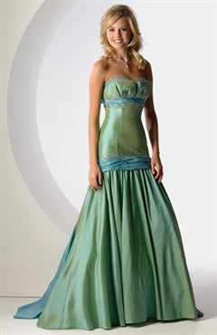 sweetheart brush train princess 2012 Prom Dresses