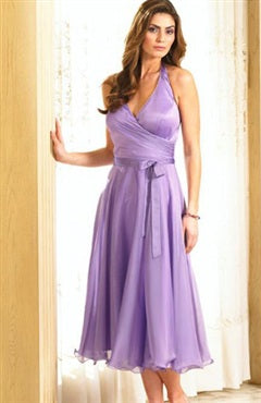 Chiffon Sleeveless Sashes/ Ribbons Tea-length Cocktail Dresses, Style Code: 01033, US$74.00
