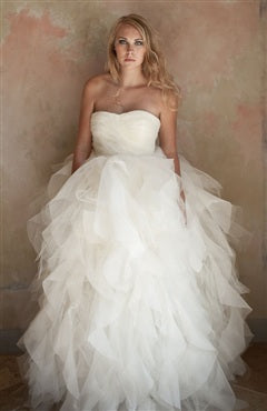 [Two In One Wedding Dress]Gentle Sweetheart Layers Wedding Dress, Style Code: 08533, US$189.00, LONG