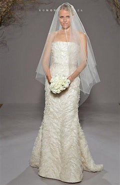 Square Fingertip Wedding Veil, Style Code: 09186, US$6.39