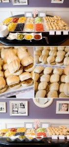 wedding burger bar: wedding food trends