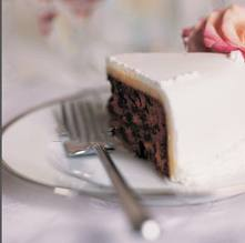 wedding cake for dessert | money saving wedding tips