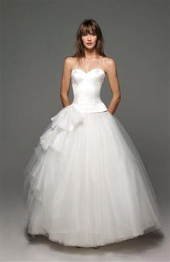 Sweetheart Ball Gown with Bow Detail Wedding Dresses, Style Code: 08962, US$189.00