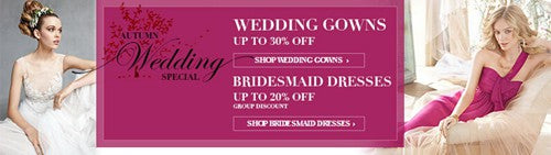 wedding gowns offers