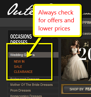 wedding dress offers