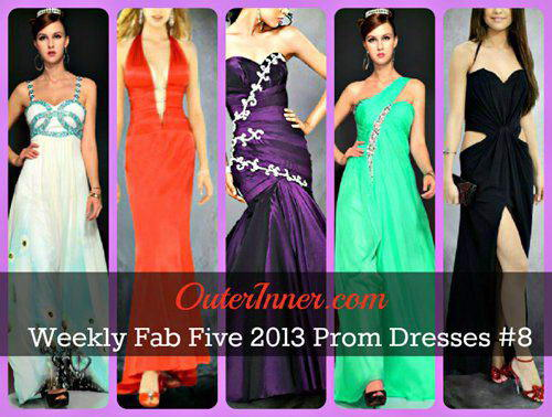 weekly fab five 2013 prom dresses #8