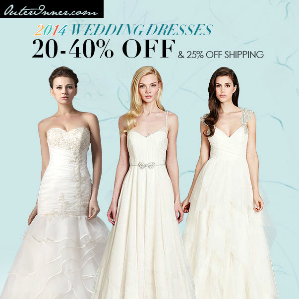 2014 wedding dresses from OuterInner.com
