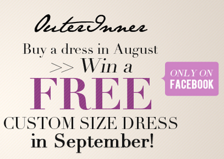 Win free dress on facebook