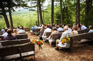 forest rustic weddings