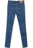 Blue Pockets Cut Slim Denim Pant