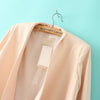 Apricot Long Sleeve Casual Blazer