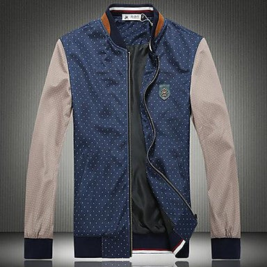 Men's New Wave Big Yards Long Sleeve Jacket